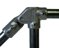 Winkel-Stück mit Gelenkanschluss