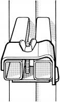 Treppenverstellungsklammer für Leitern Typ 6225
