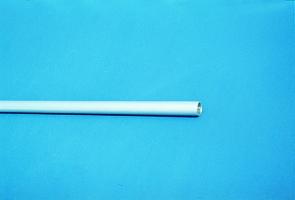 Einhängerohr für Leitern mit Haken
