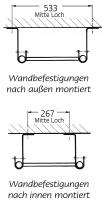 Grundleitern – Holm-Ø 34 mm, Rohrprofilsprossen
