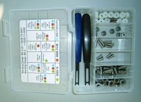 Ersatzteilebox für Kleinteile
