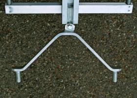 Fuß mit Spitze für Einholm-Leiter Mobil – DBGM