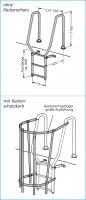 Großer Rückenschutzbügel für Ausstiegsteil mit Rückenschutzkorb