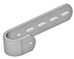 Leiteranschlussteil 216 mm