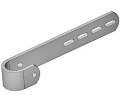 Leiteranschlussteil 386 mm