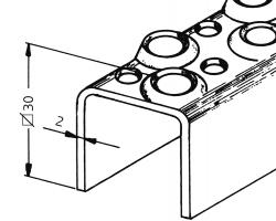 U-Sprossen-Profil