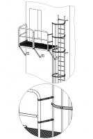 Zubehör Anbindung an seitlichen Ausstieg, oben