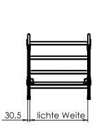 Montagetritt - LW 600 mm