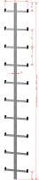 Einholmleiter aus Stahl