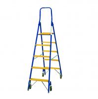 Rollbare Stufenstehleiter