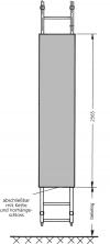 Sicherungsplatte zum Einhängen