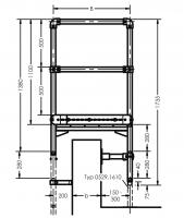 Übersteigteil im Bausatz