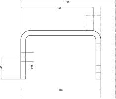 Wandbefestigungen für ebene und runde Bauwerke